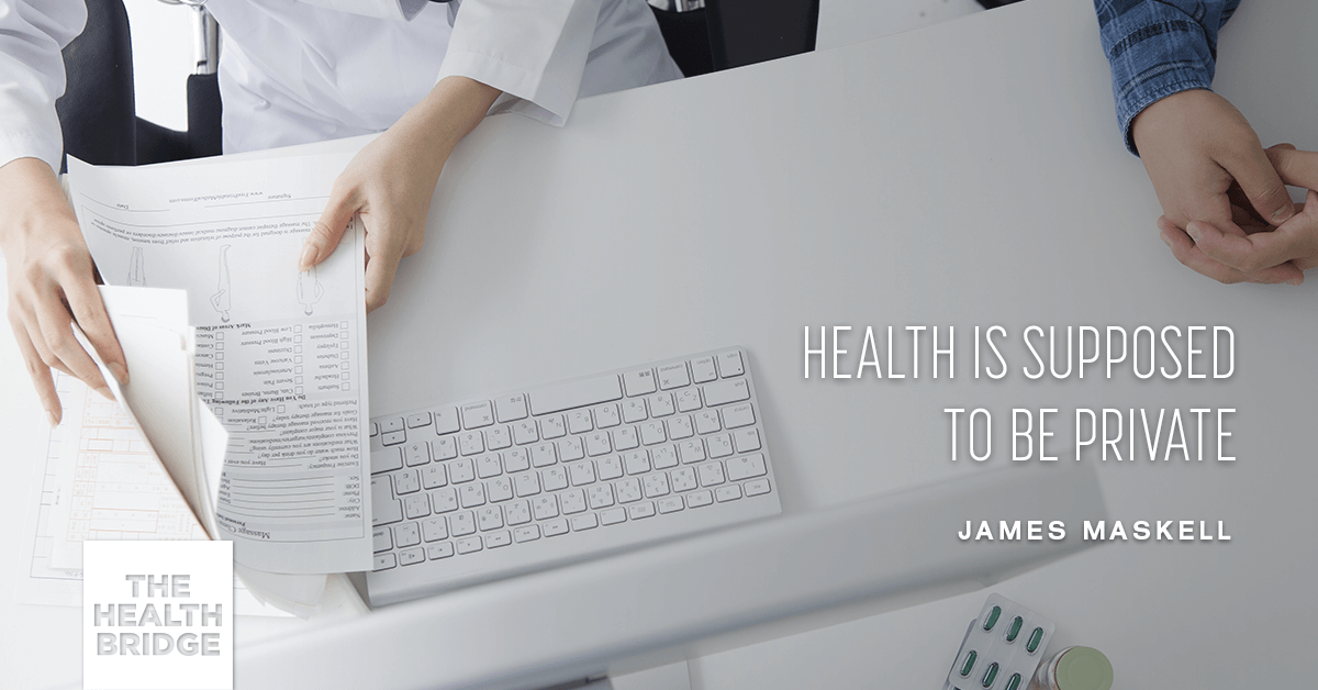 Health Is Supposed To Be Private - @mrjamesmaskell via @well_org