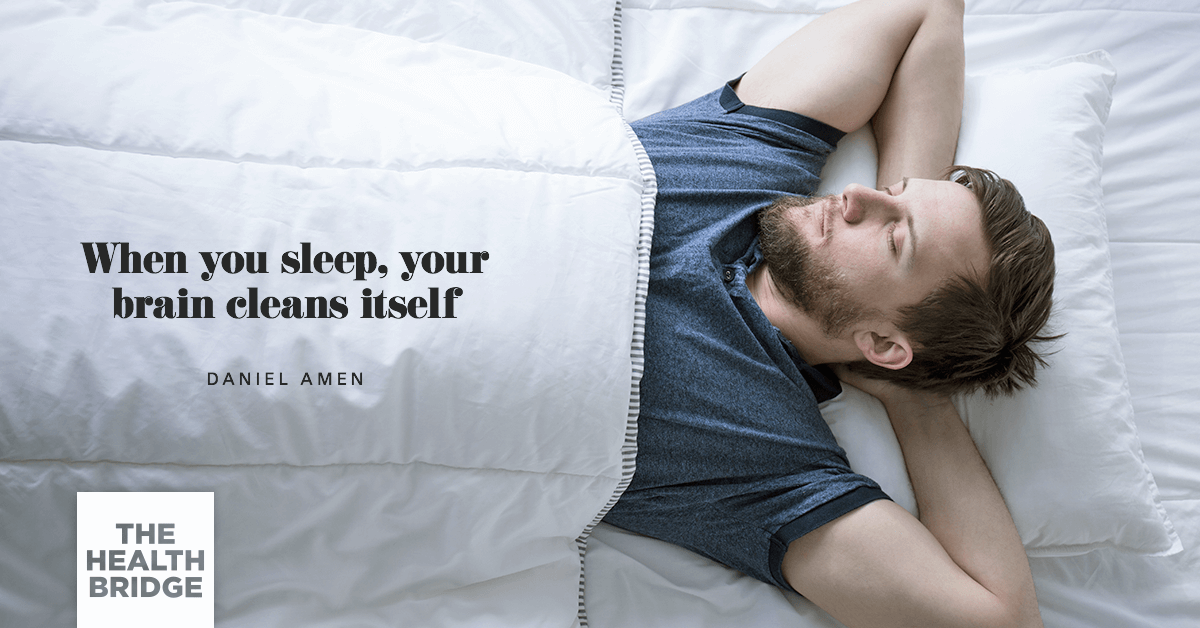 Your Brain Cleans Itself When You Sleep  - @DocAmen via @Well_Org