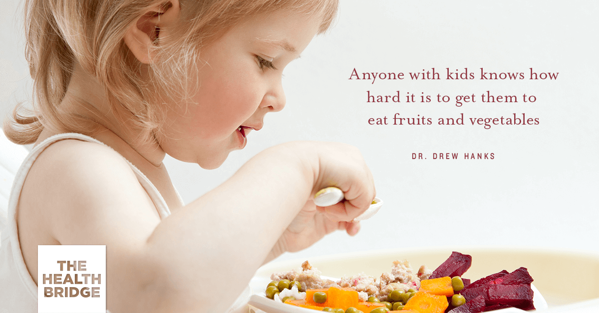 How Do You Get Your Kids To Love Eating Healthy? - Dr. Drew Hanks via @Well_org