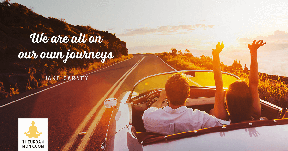 We Are All On Our Own Journeys - @JakeSurfs via @Well_org