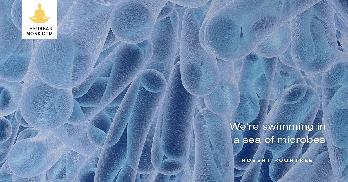 We're Swimming In A Sea Of Microbes - #RobertRountree via @Well_Org