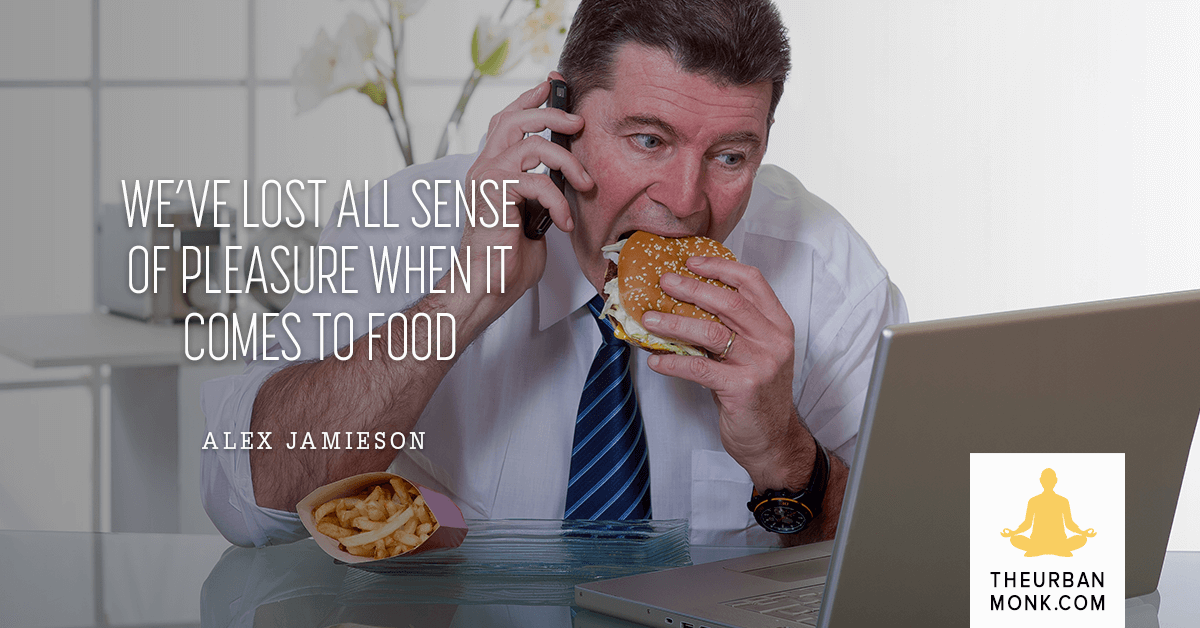 We've Lost All Our Sense Of Pleasure When It Comes To Food - @deliciousalex via @Well_Org