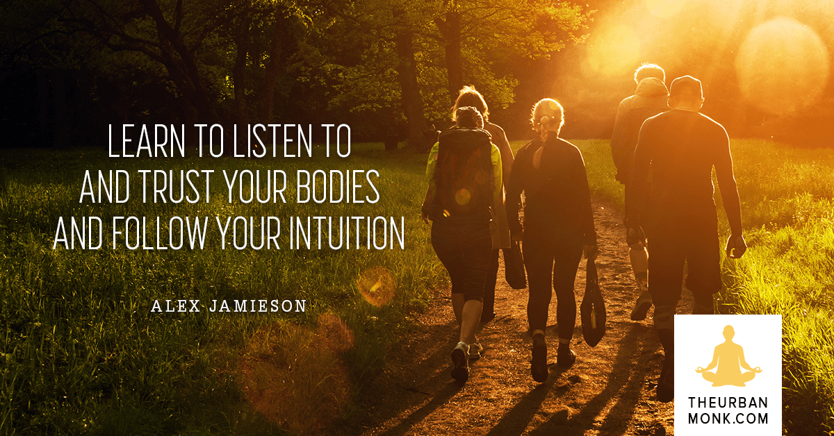 Follow Your Intuition - @deliciousalex via @Well_Org