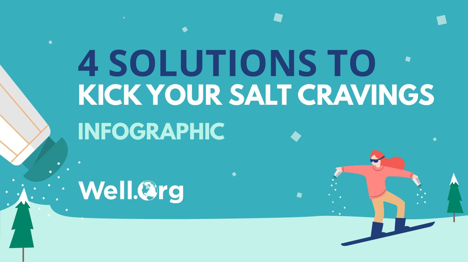 Featured | Sodium Solutions For Your Salt Cravings [INFOGGRAPHICS] | what causes salt cravings