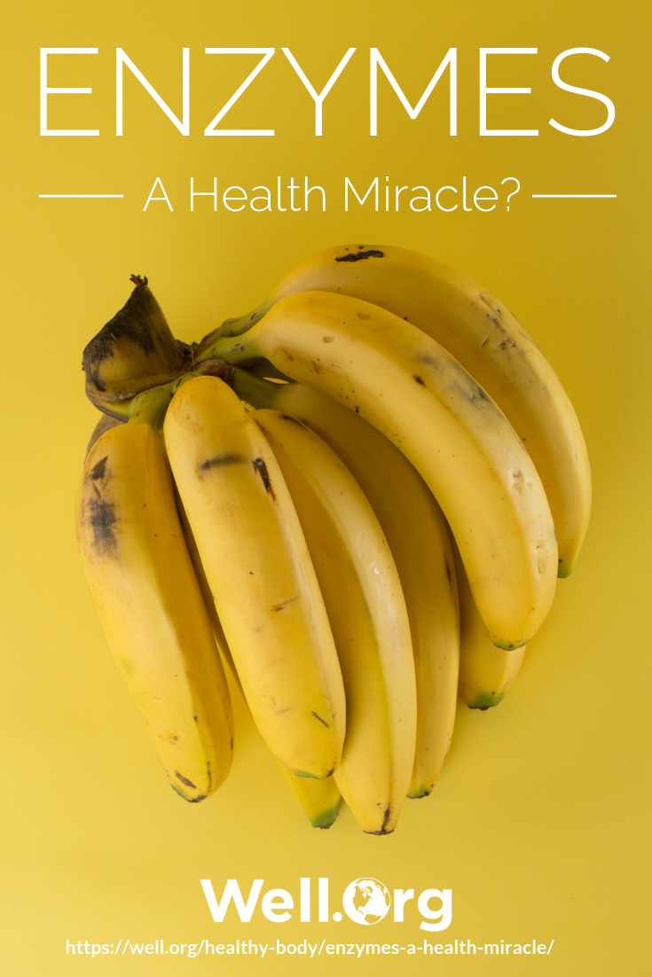 Enzymes… A Health Miracle? https://www.well.org/healthy-body/enzymes-a-health-miracle/
