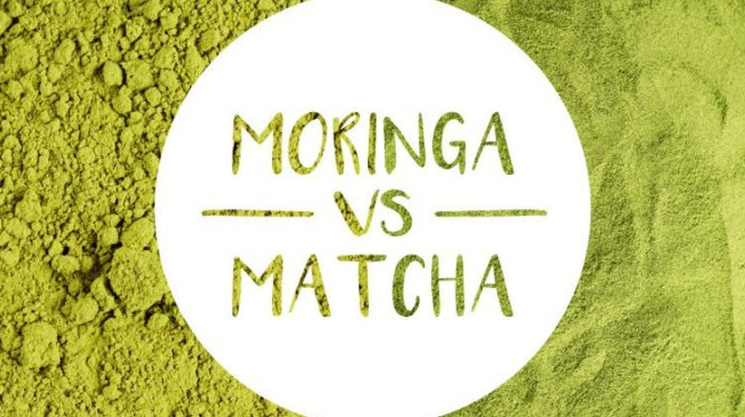 Featured | The Battle Of The Greens: Moringa vs. Matcha | super greens | matcha and moringa tea