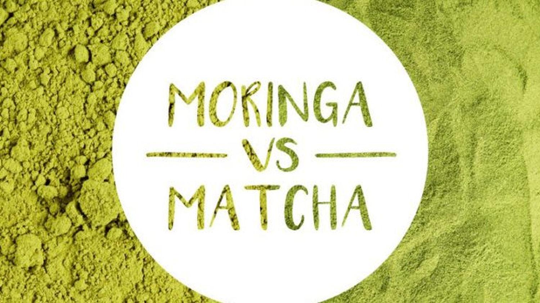 Featured | The Battle Of The Greens: Moringa vs. Matcha | super greens | matcha and moringa tea