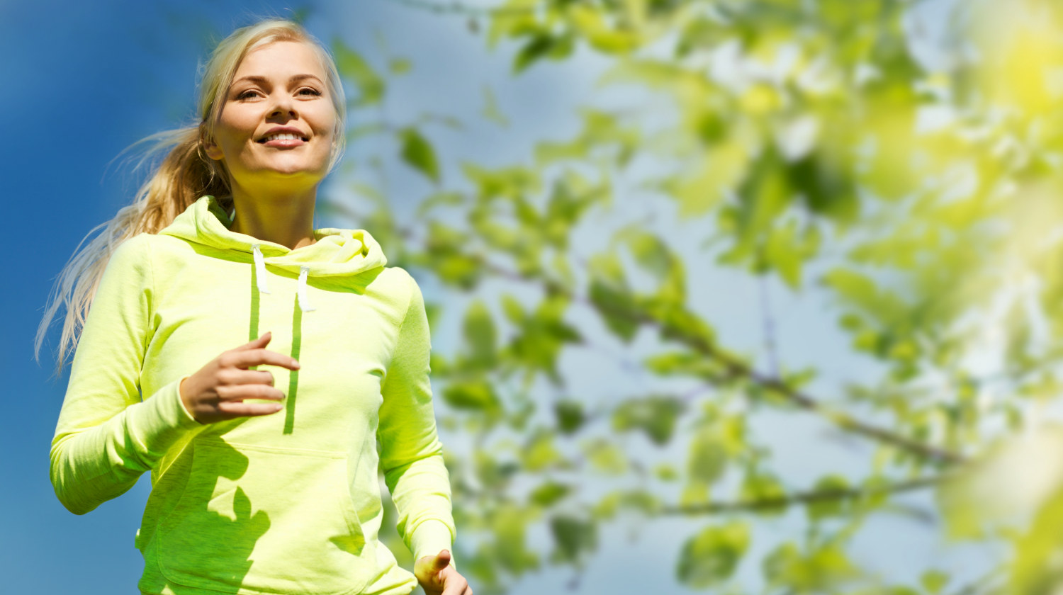 Feature | Fitness people healthy lifestyle concept happy | Ways To Have A Balanced Microbiome