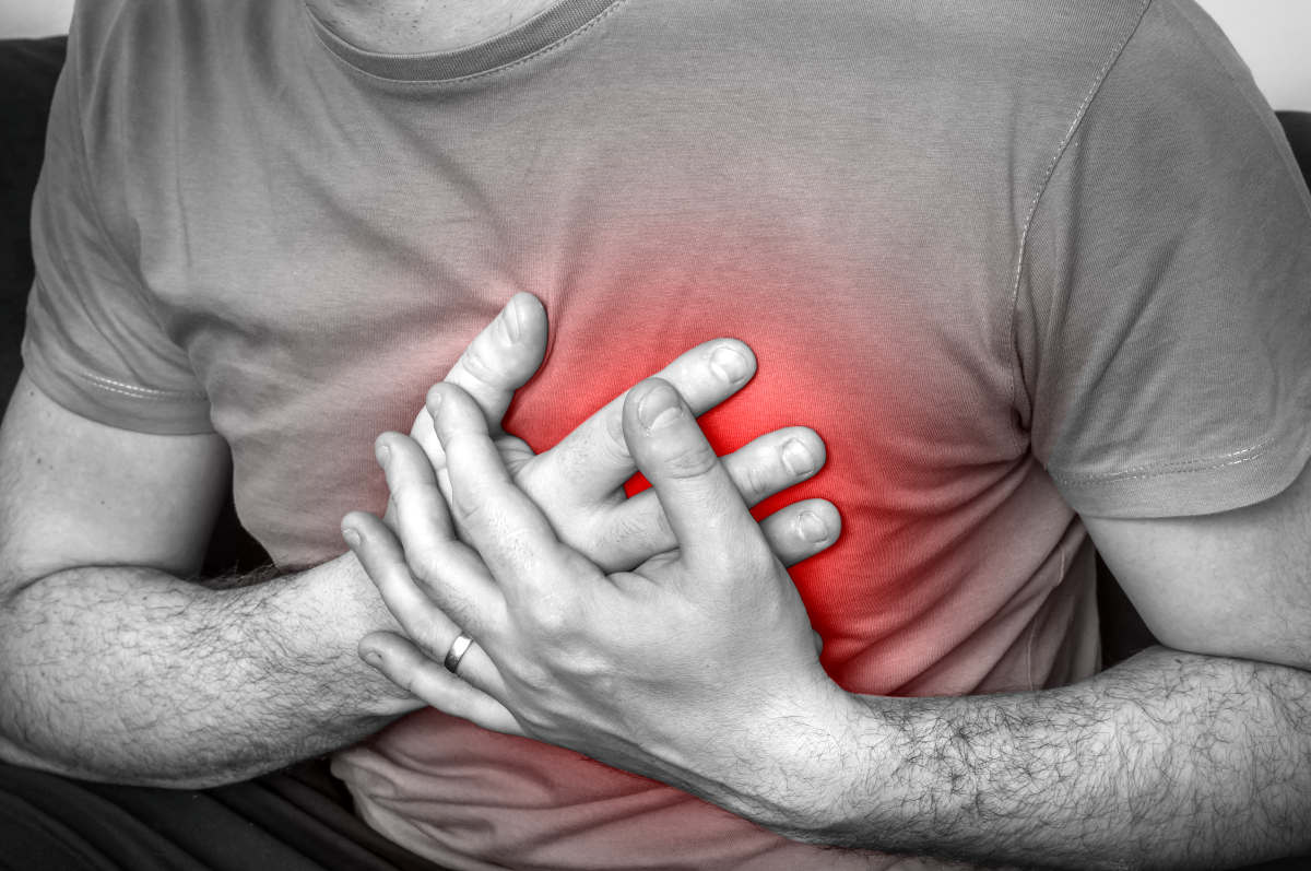 Man having chest pain heart attack | How Is Trimethylamine Produced And What Should You Know About It