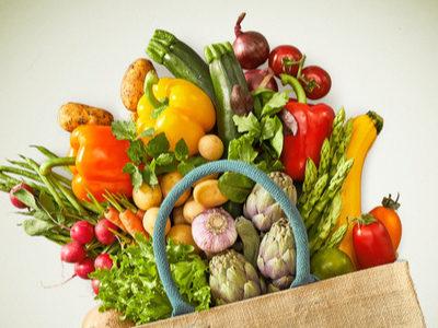 reusable bag produce