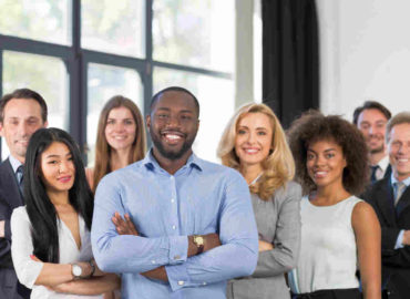 African American Businessman Boss With Group | Viome: What It Does And How Can It Help You