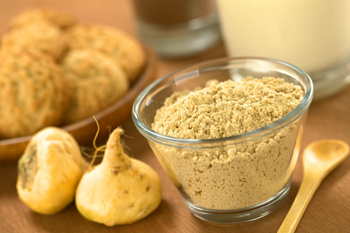 Powdered Maca or Peruvian ginseng | Caffeine Alternatives For A Natural Energy Boost