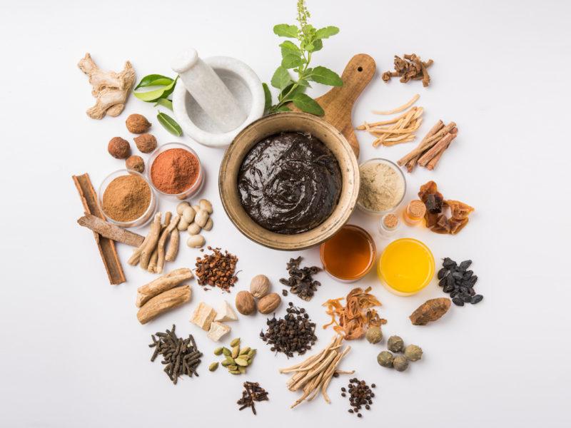 photo of Ayurvedic herbs