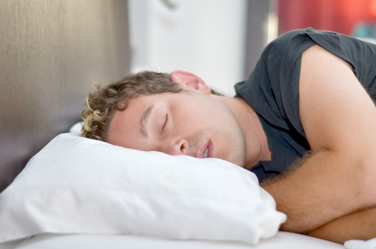 man sleeping | Can't Focus? 11 Ways To Improve Your Concentration Naturally | how to improve memory and focus