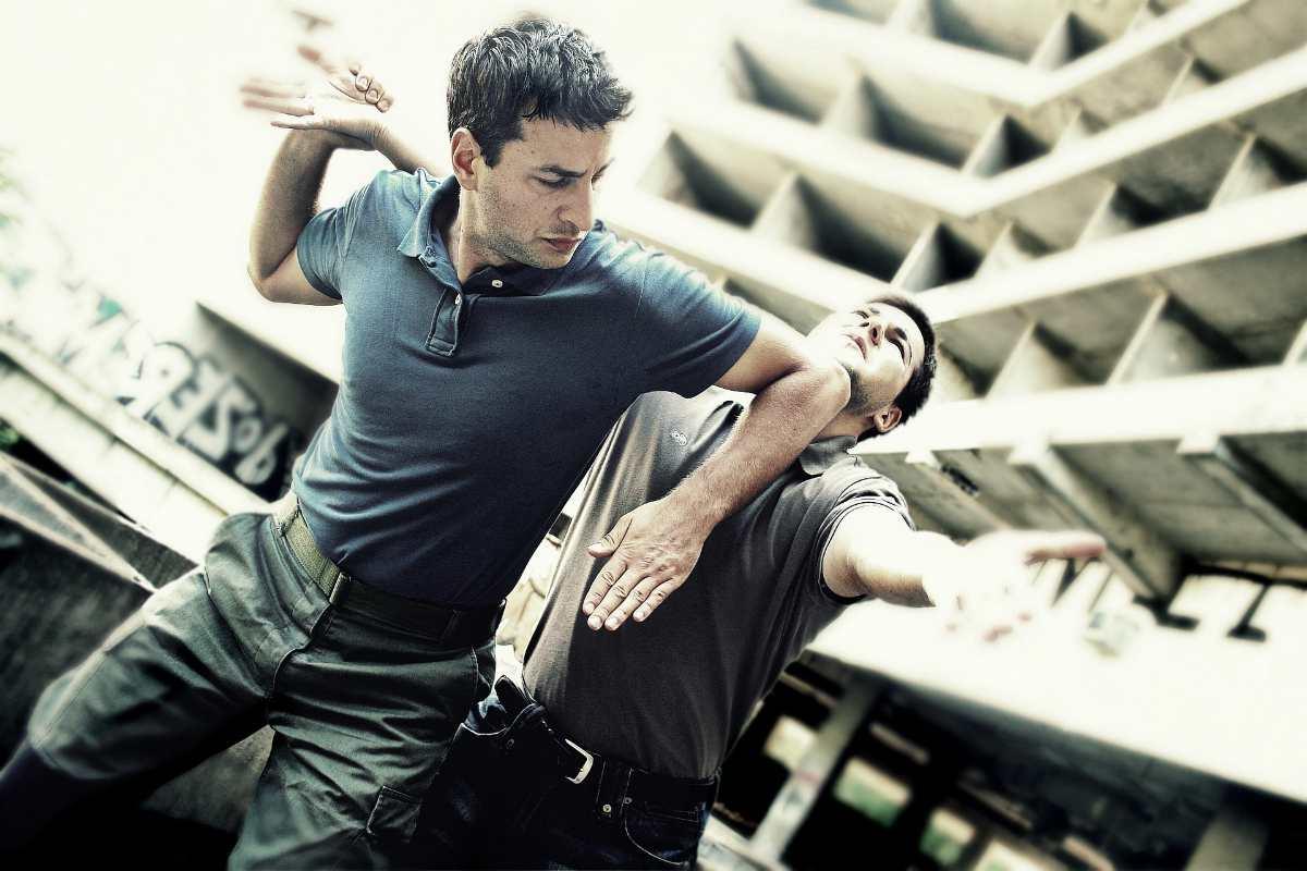 man showing krav maga self defense skills at opponent   types of martial arts   types of mixed martial arts   what are the different types of martial arts